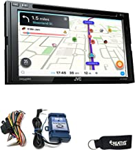 JVC KW-V840BT Compatible with Android Auto/CarPlay CD/DVD with Steering Wheel Interface