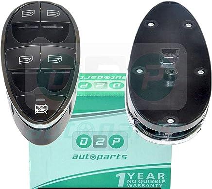 D2P para Mercedes Clase E W211 [2002 - 2008] Saloon Interruptor de la Ventana