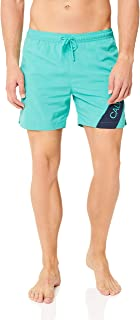 Calvin Klein Men's Medium Length Drawstring Short, Atlantis, S