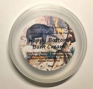 Diaper Rash Happy Bottom Bum Cream Soothing For Baby Bottoms All Natural Organic Rash Cream Also Great For Chapped Cheeks