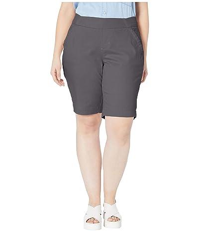 Jag Jeans Plus Size Plus Size Gracie Pull-On Bermuda Shorts (Grey Streak) Women