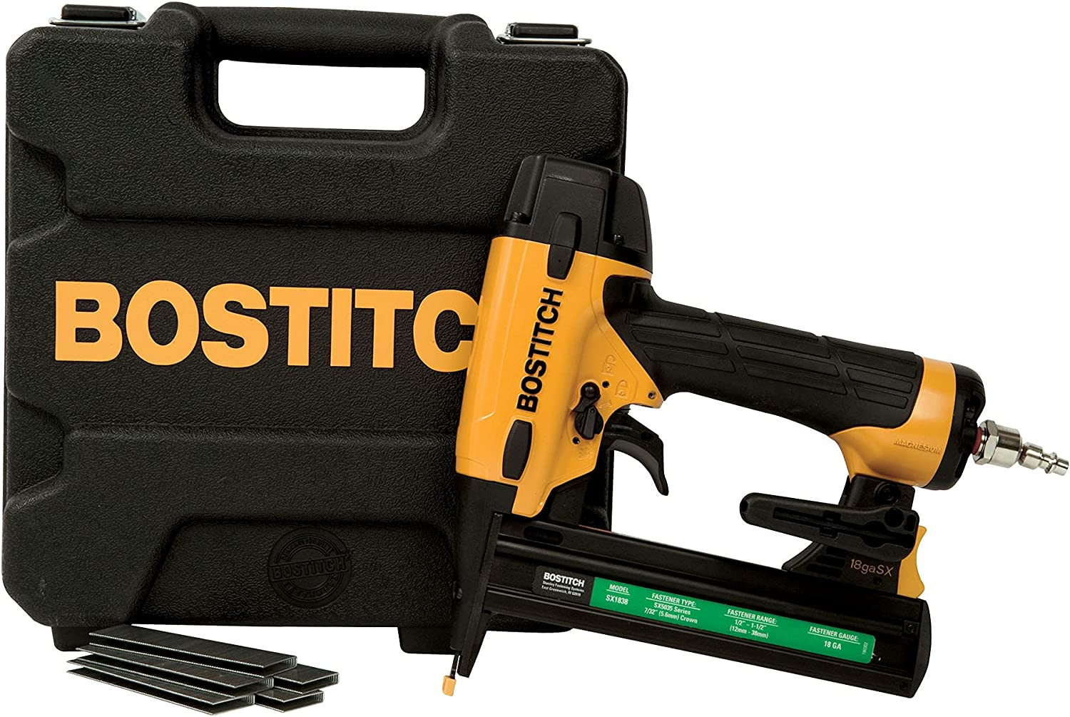 Bostitch BTFP71917 Finish Nailer 1/4 inch Air Fitting