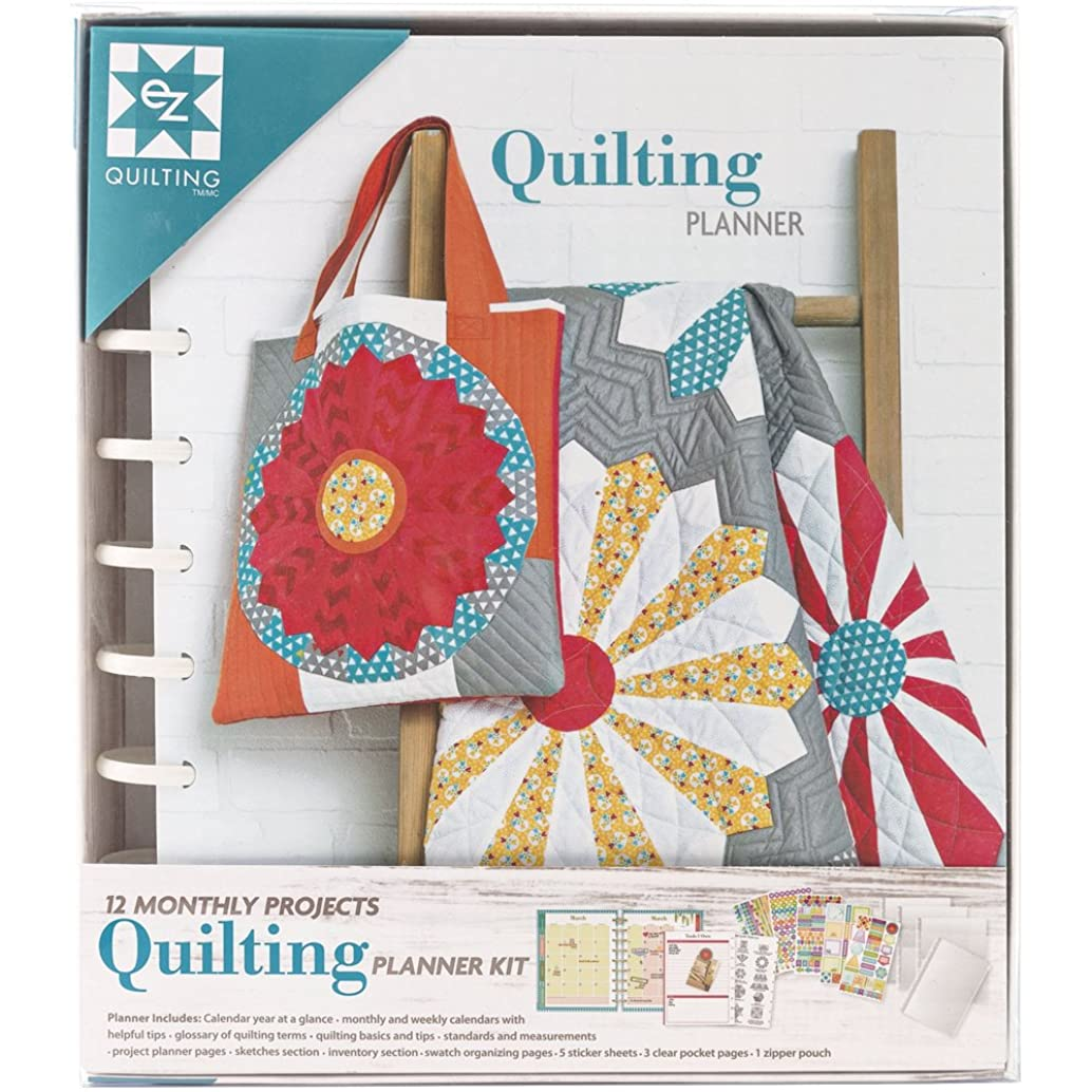 EZ Quilting 12 Monthly Projects Quilting Planner Kit