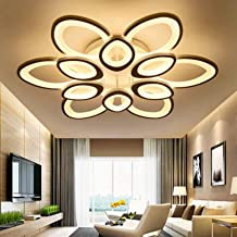 Modern Simple LED Ceiling Lamp 12 Head Creative Flower Shape Ceiling Lighting Fixture for Bedroom Living Room Decorative, ...