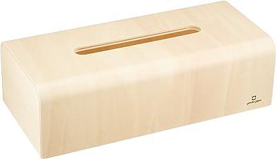 ヤマト工芸 ティッシュケース 「NATURE-BOX」 ナチュラル YK04-007