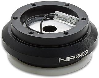NRG SRK-110H Black Steering Wheel Short Hub Adapater For Honda Accord, Civic, Del Sol, Prelude, & Acura Integra