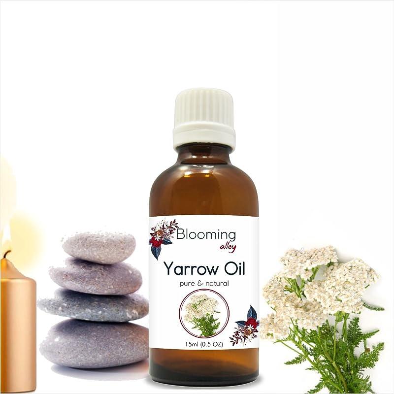 ビルダーモバイル変えるYarrow Oil (Achillea Millefolium) Essential Oil 15 ml or .50 Fl Oz by Blooming Alley