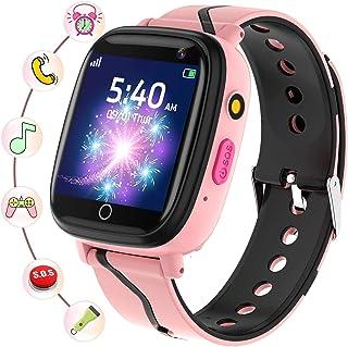 Smartklocka för barn - barn smartklockor för pojkar och flickor med samtal SOS musikspelare kamera väckarklocka spel inspe...