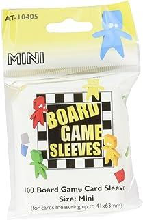Arcane Tinman Sleeves: Mini Board Game, Clear