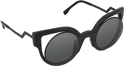 a5384a303e Fendi Women s Round Cutout Sunglasses