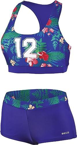 Beco, Bonnet B College 12Hawaii Les Maillots de Bain Bikini Buscravater pour Femme