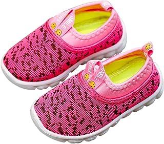 DEBAIJIA Scarpe per Bambini 1-4T Baby Walking Ragazza Ragazzo Bacon Trainer Morbida Suola Materiale Antiscivolo Mesh PVC T...