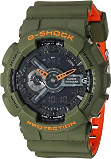 Casio G-Shock GA-110LN Analog-Digital Men's Watch (Green)