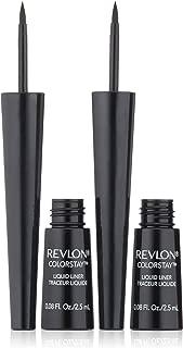 Revlon ColorStay Liquid Liner Twin Pack, Blackest Black, 0.08 Fluid Ounce