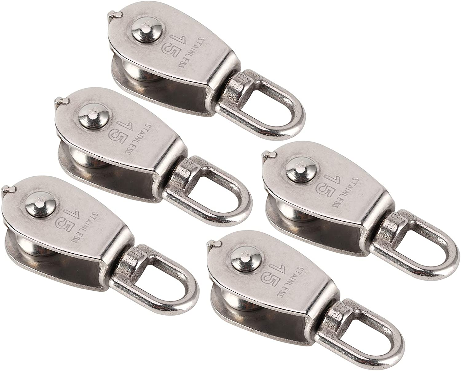 CUTULAMO New arrival Stainless Max 50% OFF Steel Durable Pulley