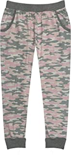 Popular Girl's Solid and Print Jogger Pants with Pockets