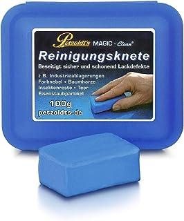 Petzoldt's Profi Reinigungsknete Magic Clean, Blau, 100 Gramm, Lackknete