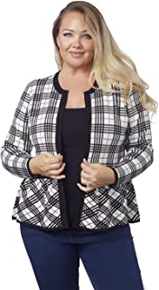 Best peplum cardigan plus size Reviews