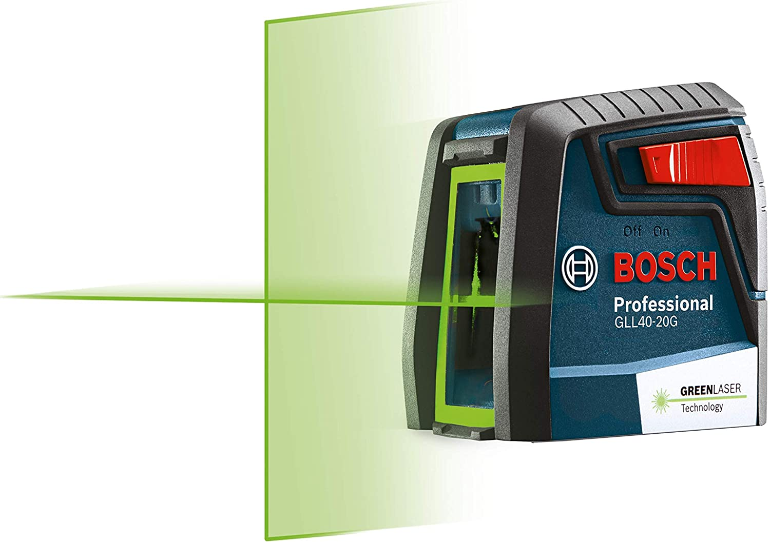 Bosch GLL40-20G 40ft Green-Beam w Cross-Line Self-Leveling Very popular Large discharge sale Laser