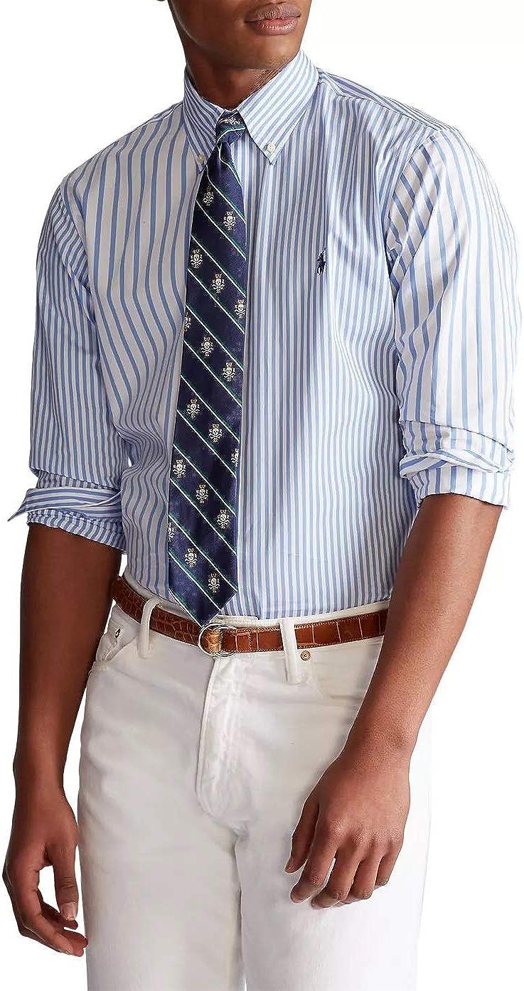 Ralph 格安 Lauren Mens 当店は最高な サービスを提供します Stretch Shirt Dress Poplin-Weave