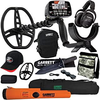 Garrett AT MAX Metal Detector with MS-3, Pro-Pointer AT Z-Lynk, Carry Bag & More