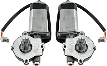 1983-1993 Mustang Convertible Rear Quarter Powered Window Motors - Pair