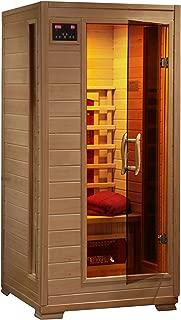 Radiant Saunas BSA2400 1-2 Person Hemlock Ceramic Infrared Sauna