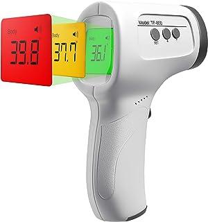 Infrarot Fieberthermometer kontaktlos für Stirn - Digitales Stirnthermometer I Fieber-Messgerät für Erwachsene und Kinder