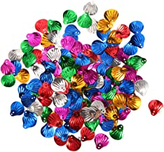 Amosfun Sequins for Crafts Big Shell Shape 30g DIY Jewelry Making Sewing Material Supplies Festival Wedding Xmas Party Con...