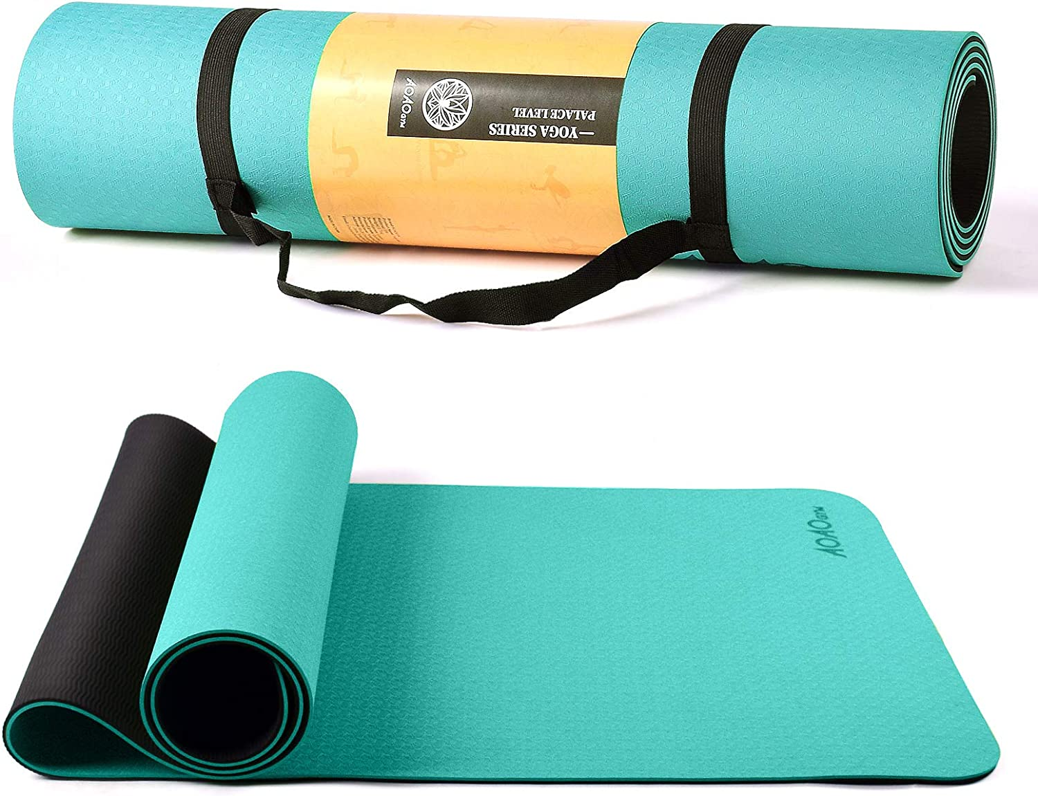 AOAOGYM Yoga Mat Spring new work one after another Non Slip with Dallas Mall Backpac Free Fitness Exercise