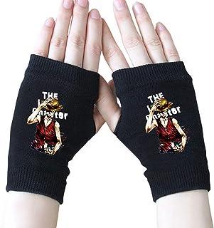 Anime Danganronpa Half Fingerless Gloves Cotton Mitten Cosplay Gifts 3