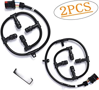 Fits Ford Glow Plug Harness 6.0 Powerstroke, Glow Plug Harness Kit with Removal Tool, for Ford 6.0L V8 Powerstroke F250 Super Duty, F350, and more - 2004, 2005, 2006, 2007, 2008, 2009, 2010