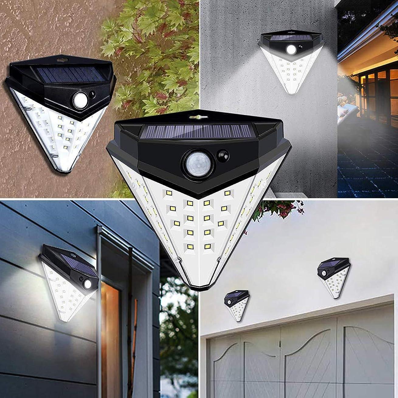 統合する先入観本体Galapara センサーライト ソーラーライト 32 LED 菱形 屋外 人感センサー 太陽光 IP44防水 防犯ライト ledライト 玄関/軒先/駐車場/庭先