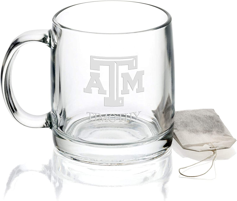 M. LA HART Texas AM University Max 58% OFF Glass Max 87% OFF Coffee oz Mug 13