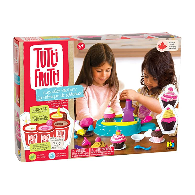 Rocco Toys?–?Tutti Frutti Play-Dough The Factory of Cupcakes, bjtt14818