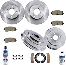 Best 2010 honda civic brake rotors Reviews