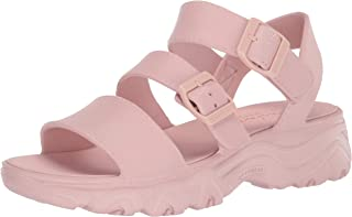 Skechers womens D'LITE 2.0 - Molded 3-Strap Sling Back with Luxe Foam