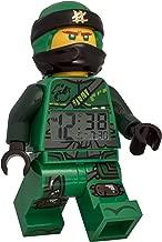 ClicTime Lego Ninjago Lloyd Minifigure (2018) Alarm Clock, 9.5