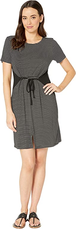 Jersey T-Shirt Dress with Tie
