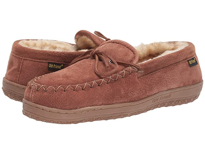 Old Friend  Loafer Moccasin (Chestnut) Mens Slippers