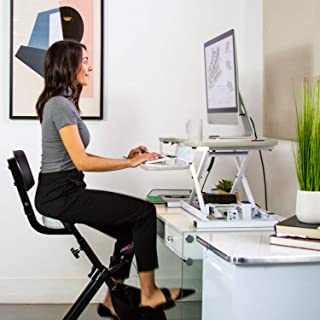 Zero Gravity Tables - Seated Desk Cycle (Black)