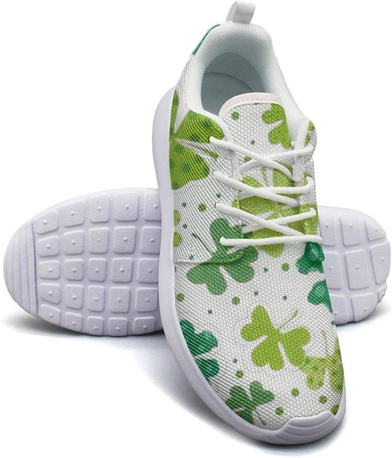 Gjsonmv Happy St Patricks Day mesh Lightweight shoes for Women Casual Sports Cycling Sneakers shoes