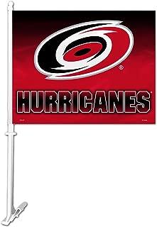 Fremont Die NHL Carolina Hurricanes Ombre Design Car Flag, 11