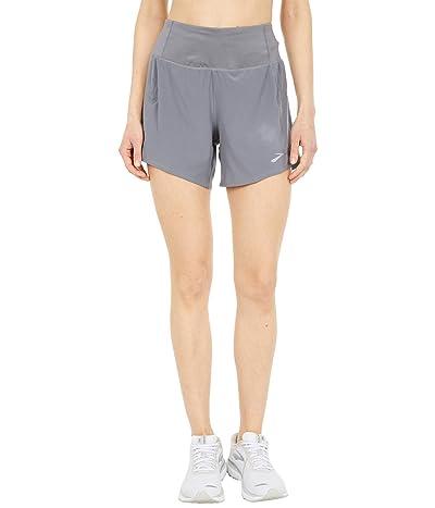 Brooks Chaser 5 Shorts (Steel) Women