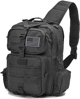 Tactical Sling Bag Pack Military Rover Shoulder Sling Backpack Molle  Assault Range Bag Everyday Carry Bag 9cb83d30cd378