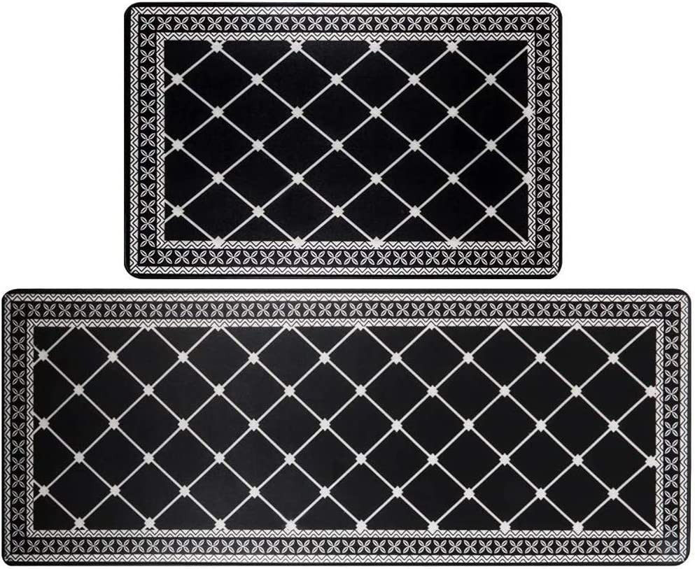 HEBE Anti Fatigue Kitchen Super sale period Direct store limited Rug Sets Floo Non Skid Piece 2