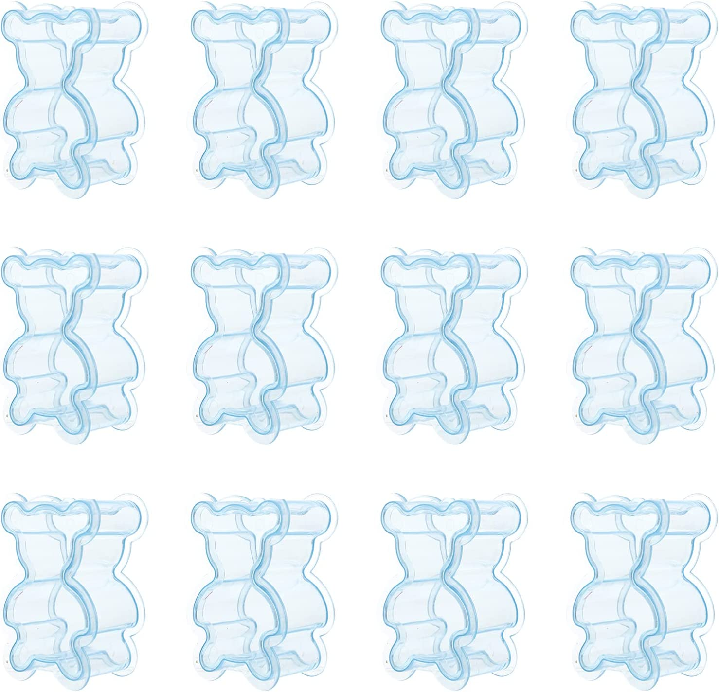 FRCOLOR 12pcs Clear Max 52% OFF Candy Box Bear Party Favor Shaped Tran Al sold out. Boxes