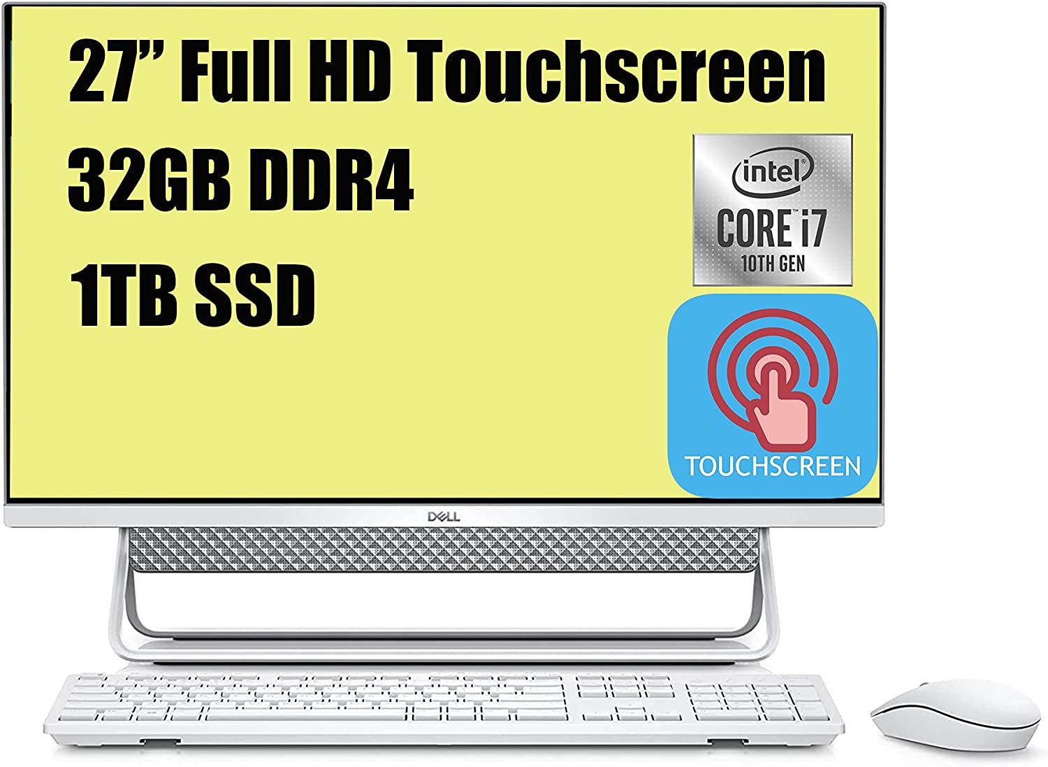"""Flagship Dell Inspiron 27 7000 All Reservation Desktop One in FHD Sales results No. 1 27"""" T"""
