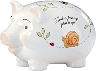 Lenox Butterfly Meadow Piggy Bank
