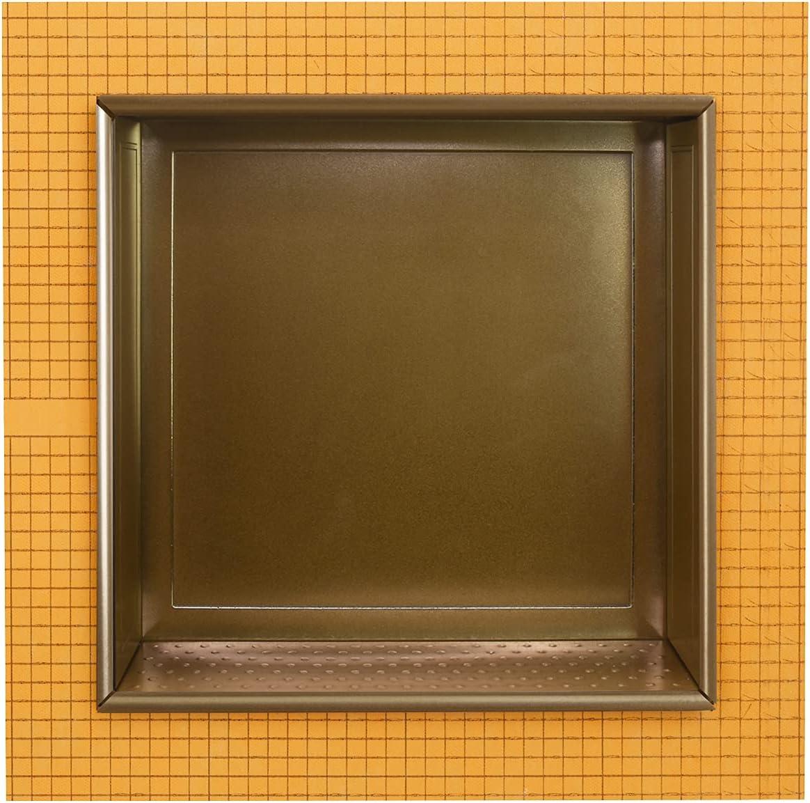 Schluter Kerdi Board 12 x inch Recessed Pre Reservation Niche Tile Excellent Shower